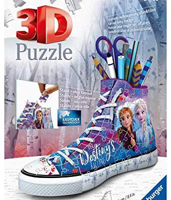 Ravensburger Puzzle Puzzle 3d Sneaker Frozen 2 Puzzle 3d Bambini 108 Pezzi Puzzle Frozen Eta Consigliata 8 0