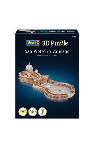 Revell 208 3d Puzzle Basilica Di San Pietro Multicolore 0 0