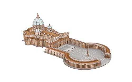 Revell 208 3d Puzzle Basilica Di San Pietro Multicolore 0 1