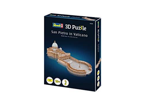 Revell 208 3d Puzzle Basilica Di San Pietro Multicolore 0 3