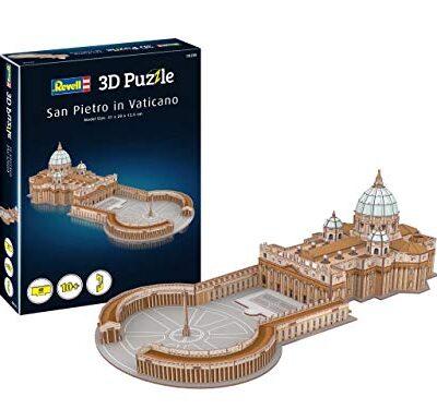 Revell 208 3d Puzzle Basilica Di San Pietro Multicolore 0