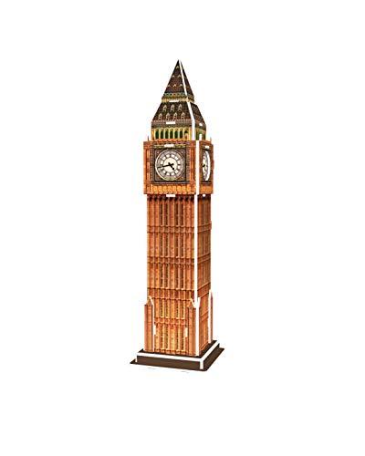 Revell 3d Puzzle Big Ben Un Punto Di Riferimento Di Londra Scopri Il Mondo In 3d Divertiti Per Grandi E Piccini Colori 120 0 1