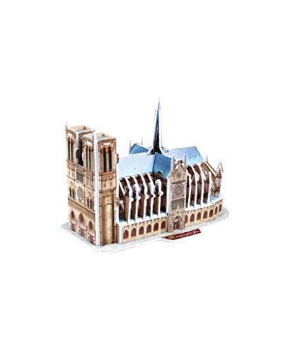 Revell 3d Puzzle Cattedrale Di Notre Dame Il Cuore Di Parigi Scopri Il Mondo In 3d Divertiti Per Grandi E Piccini Colori 121 0 1
