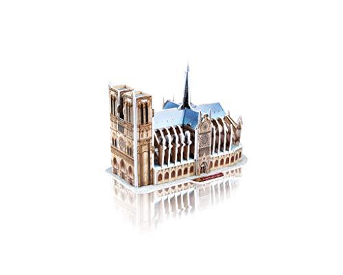Revell 3d Puzzle Cattedrale Di Notre Dame Il Cuore Di Parigi Scopri Il Mondo In 3d Divertiti Per Grandi E Piccini Colori 121 0 2