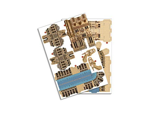 Revell 3d Puzzle Cattedrale Di Notre Dame Il Cuore Di Parigi Scopri Il Mondo In 3d Divertiti Per Grandi E Piccini Colori 121 0 3
