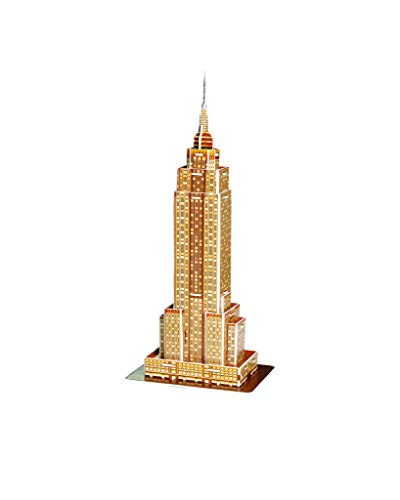 Revell 3d Puzzle Empire State Building Il Grattacielo Un Punto Di Riferimento Di New York Scopri Il Mondo In 3d Divertiti Per Grandi E Piccini Colori 119 0 1