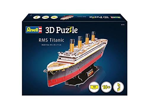 Revell Rms Titanic 3d Puzzle Colore Multi Colour 00170 0 0