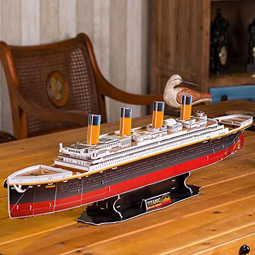 Revell Rms Titanic 3d Puzzle Colore Multi Colour 00170 0 1