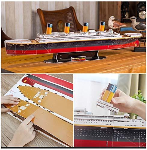 Revell Rms Titanic 3d Puzzle Colore Multi Colour 00170 0 2