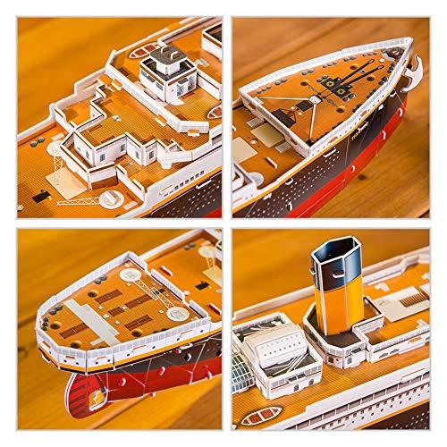 Revell Rms Titanic 3d Puzzle Colore Multi Colour 00170 0 3
