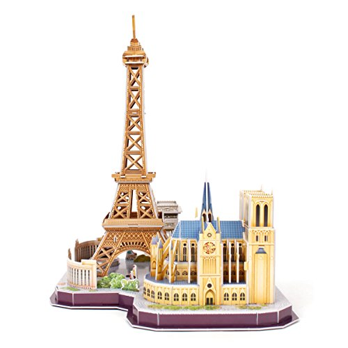 Revell Skyline Di Parigi 3d Puzzle Colore Multi Colour 00141 0 2