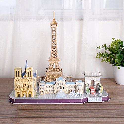 Revell Skyline Di Parigi 3d Puzzle Colore Multi Colour 00141 0 4