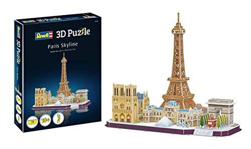 Revell Skyline Di Parigi 3d Puzzle Colore Multi Colour 00141 0