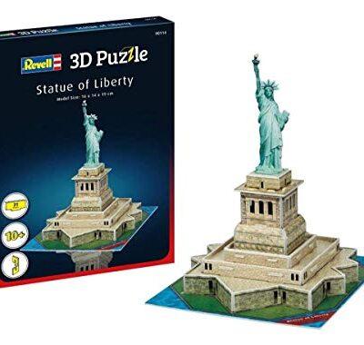 Revell Statua Della Liberta 3d Puzzle Colore Multi Colour 00114 0