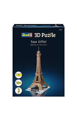 Revell Torre Eiffel 3d Puzzle Colore Multi Colour 00200 0 0