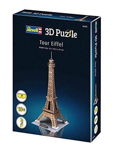 Revell Torre Eiffel 3d Puzzle Colore Multi Colour 00200 0 3