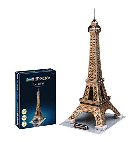 Revell Torre Eiffel 3d Puzzle Colore Multi Colour 00200 0