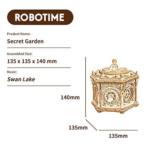 Robotime Puzzle 3d In Legno Baule Del Tesoro Meccanica Carillon In Legno Per Adulti Taglio Laser Kit Costruzione Rompicapo Modellini Kit Giocattoli Educativi 0 3