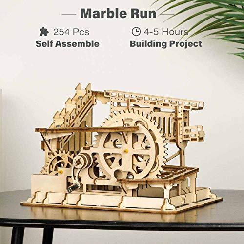 Robotime Puzzle In Legno Tagliato Al Laser Kit Modello Set Costruzione 3d Puzzle Gioca Cog Coaster 0 0