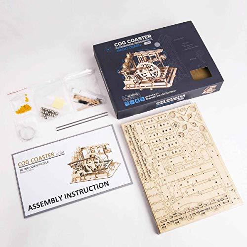 Robotime Puzzle In Legno Tagliato Al Laser Kit Modello Set Costruzione 3d Puzzle Gioca Cog Coaster 0 5