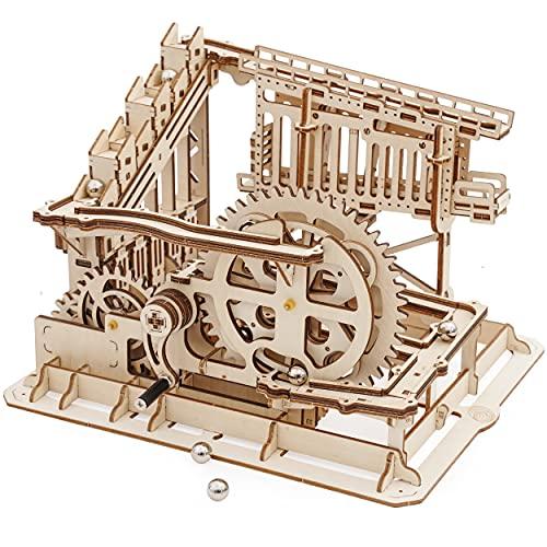 Robotime Puzzle In Legno Tagliato Al Laser Kit Modello Set Costruzione 3d Puzzle Gioca Cog Coaster 0