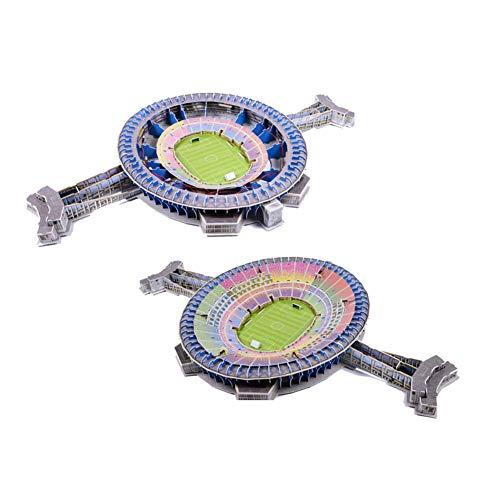 Stadio 3d Jigsaw Puzzle 3d Puzzle Giocattolo Educativo Fai Da Te Brasile Maracana Stadium Regali Per Ragazzi E Ragazze 0 1