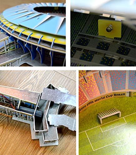 Stadio 3d Jigsaw Puzzle 3d Puzzle Giocattolo Educativo Fai Da Te Brasile Maracana Stadium Regali Per Ragazzi E Ragazze 0 4