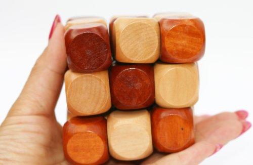 Towo Rompicapo In Legno Puzzle In Legno 3d Twist Snake Cube Wood Giochi Intelligenti Per Bambini Adulti E Ragazzi Puzzle Rompicapo In Legno Rompicapo Legno 0 1