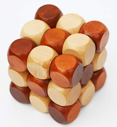 Towo Rompicapo In Legno Puzzle In Legno 3d Twist Snake Cube Wood Giochi Intelligenti Per Bambini Adulti E Ragazzi Puzzle Rompicapo In Legno Rompicapo Legno 0 4