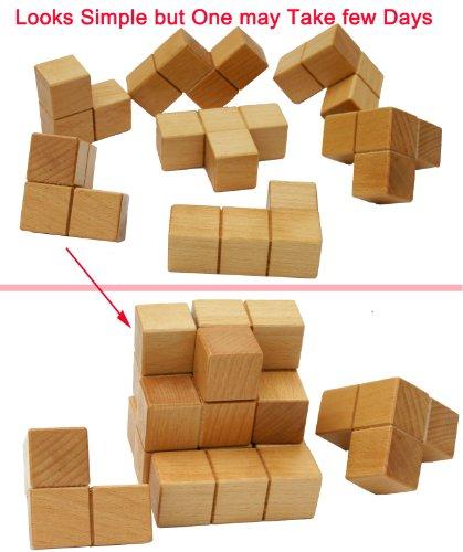 Toys Of Wood Oxford Towo Rompicapo In Legno Soma Cube Puzzle Giochi Intelligenti Per Bambini Adulti E Ragazzi Puzzle Rompicapo In Legno Rompicapo Legno 0 1