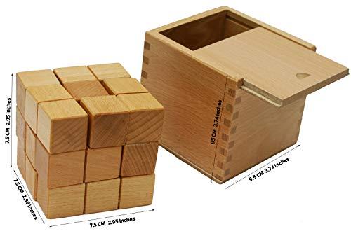 Toys Of Wood Oxford Towo Rompicapo In Legno Soma Cube Puzzle Giochi Intelligenti Per Bambini Adulti E Ragazzi Puzzle Rompicapo In Legno Rompicapo Legno 0 3
