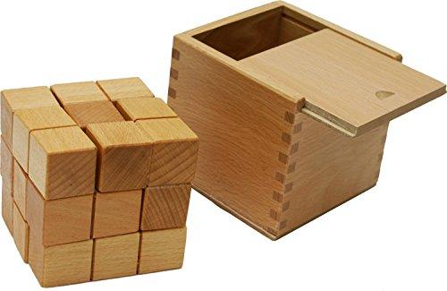 Toys Of Wood Oxford Towo Rompicapo In Legno Soma Cube Puzzle Giochi Intelligenti Per Bambini Adulti E Ragazzi Puzzle Rompicapo In Legno Rompicapo Legno 0