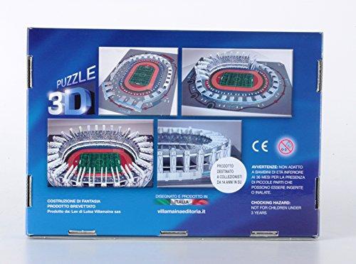 Villamainaeditoria Puzzle 3d Stadio San Paolo Di Napoli 127 Pezzi 0 2
