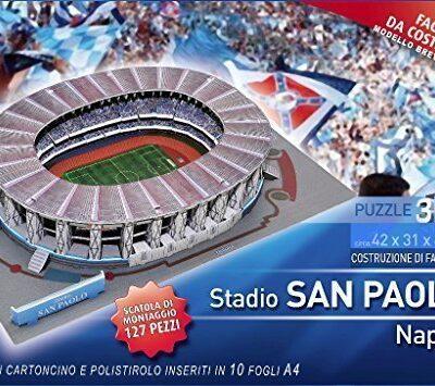 Villamainaeditoria Puzzle 3d Stadio San Paolo Di Napoli 127 Pezzi 0