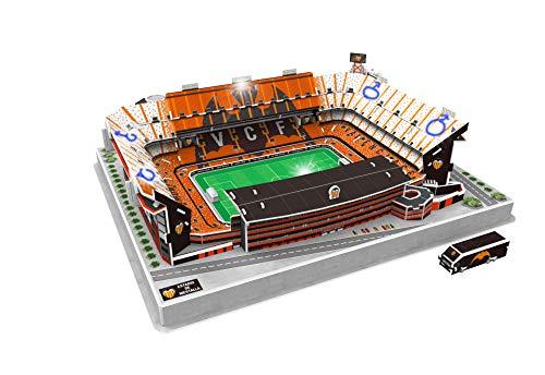 Valencia Cf Puzzle 3d Con Luce Stadio Mestalla Valencia Cf 13682 0 1