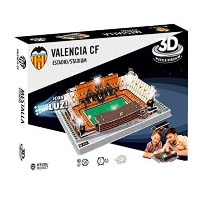 Valencia Cf Puzzle 3d Con Luce Stadio Mestalla Valencia Cf 13682 0