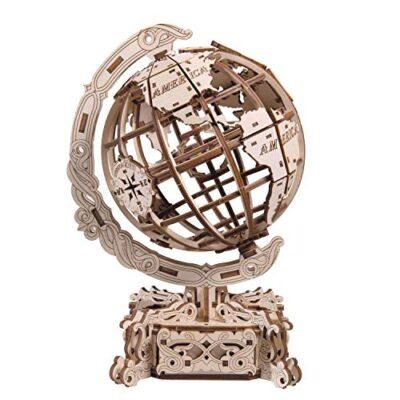 Wooden City World Globe Puzzle Meccanico Wr341 0