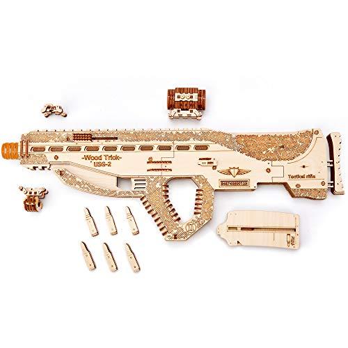 Wood Trick Puzzle 3d Di Legno Tagliato Al Laser Set Di Costruzione Meccanica Rompicapo Per Bambini Ragazzi E Adulti Assemblaggio Senza Colla Usg Usg 2 0 0