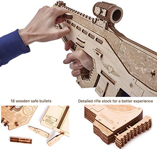 Wood Trick Puzzle 3d Di Legno Tagliato Al Laser Set Di Costruzione Meccanica Rompicapo Per Bambini Ragazzi E Adulti Assemblaggio Senza Colla Usg Usg 2 0 1