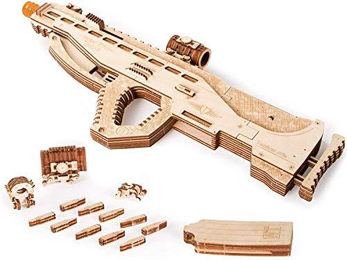 Wood Trick Puzzle 3d Di Legno Tagliato Al Laser Set Di Costruzione Meccanica Rompicapo Per Bambini Ragazzi E Adulti Assemblaggio Senza Colla Usg Usg 2 0 2