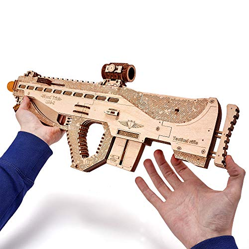 Wood Trick Puzzle 3d Di Legno Tagliato Al Laser Set Di Costruzione Meccanica Rompicapo Per Bambini Ragazzi E Adulti Assemblaggio Senza Colla Usg Usg 2 0 4