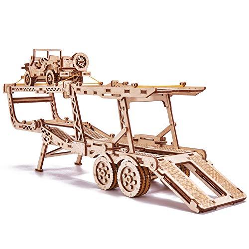 Wood Trick Puzzle Di Legno Puzzle 3d Rimorchio Auto 229 Pezzi 0 0