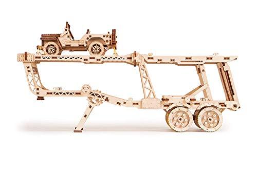 Wood Trick Puzzle Di Legno Puzzle 3d Rimorchio Auto 229 Pezzi 0 1