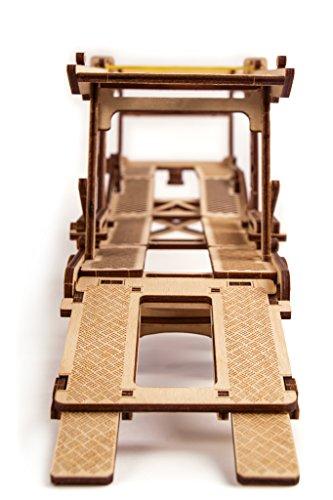 Wood Trick Puzzle Di Legno Puzzle 3d Rimorchio Auto 229 Pezzi 0 2