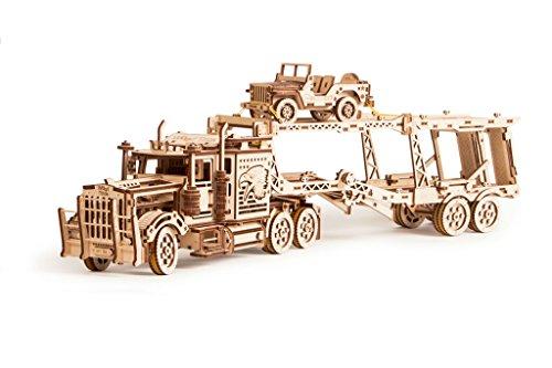 Wood Trick Puzzle Di Legno Puzzle 3d Rimorchio Auto 229 Pezzi 0 4