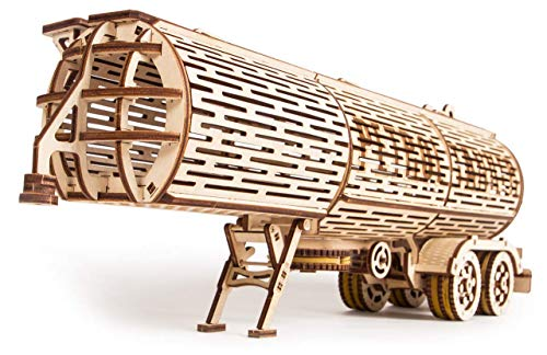 Wood Trick Puzzle Di Legno Puzzle 3d Rimorchio Del Carro Armato 200 Pezzi 0 0