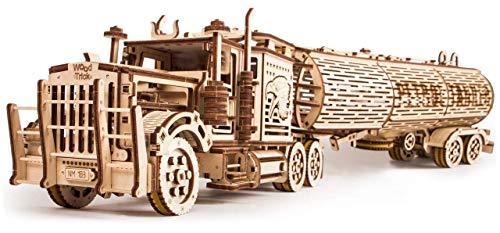 Wood Trick Puzzle Di Legno Puzzle 3d Rimorchio Del Carro Armato 200 Pezzi 0 1