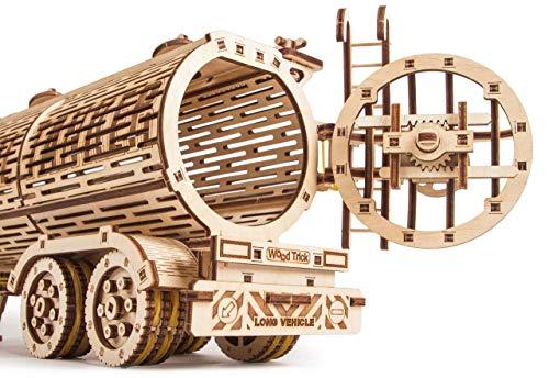Wood Trick Puzzle Di Legno Puzzle 3d Rimorchio Del Carro Armato 200 Pezzi 0 2