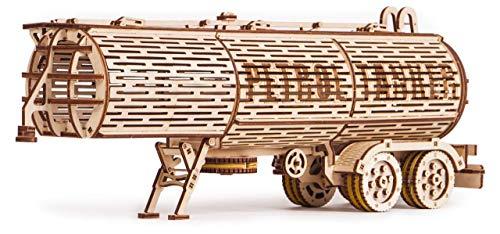Wood Trick Puzzle Di Legno Puzzle 3d Rimorchio Del Carro Armato 200 Pezzi 0
