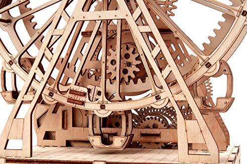 Wood Trick Ruota Panoramica Puzzle 3d Di Legno Tagliato Al Laser Set Di Costruzione Meccanica Rompicapo Per Bambini Ragazzi E Adulti Assemblaggio Senza Colla 227 Pezzi 0 3